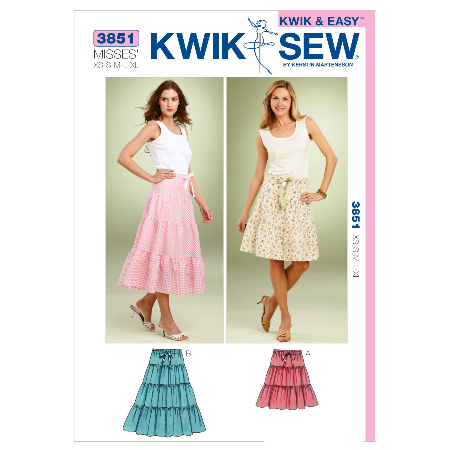 Kwik Sew Misses Skirt-K3851