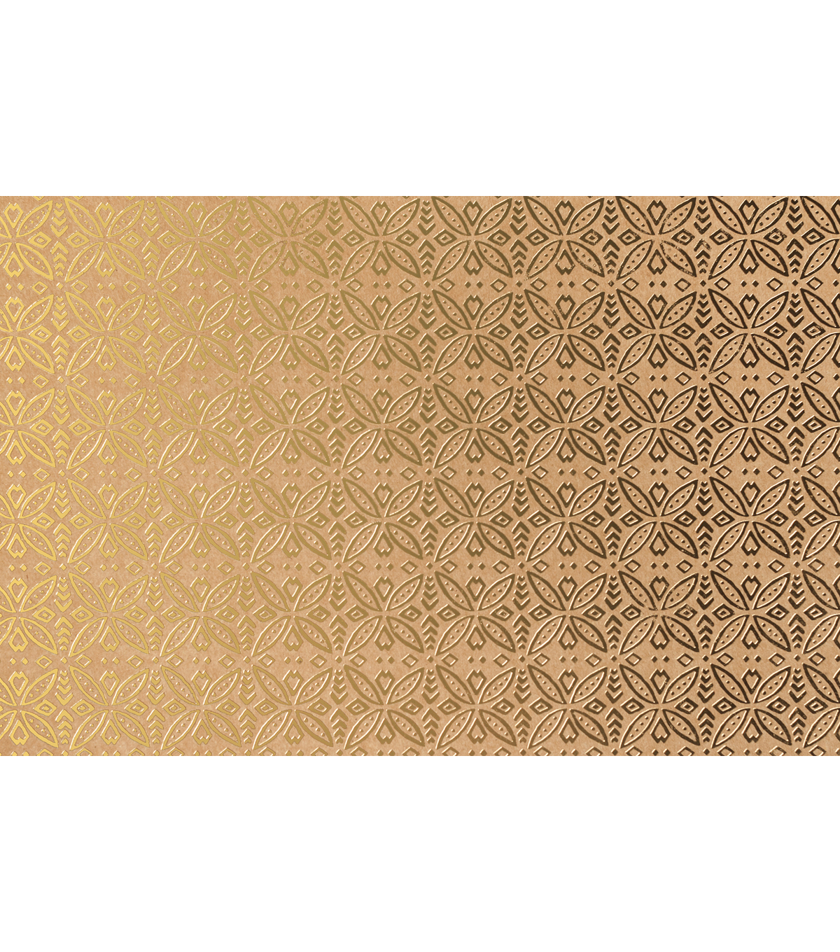 Cricut 12 Pack 12\u0027\u0027x12\u0027\u0027 Deluxe Foil Embossed Papers-Gold & Kraft