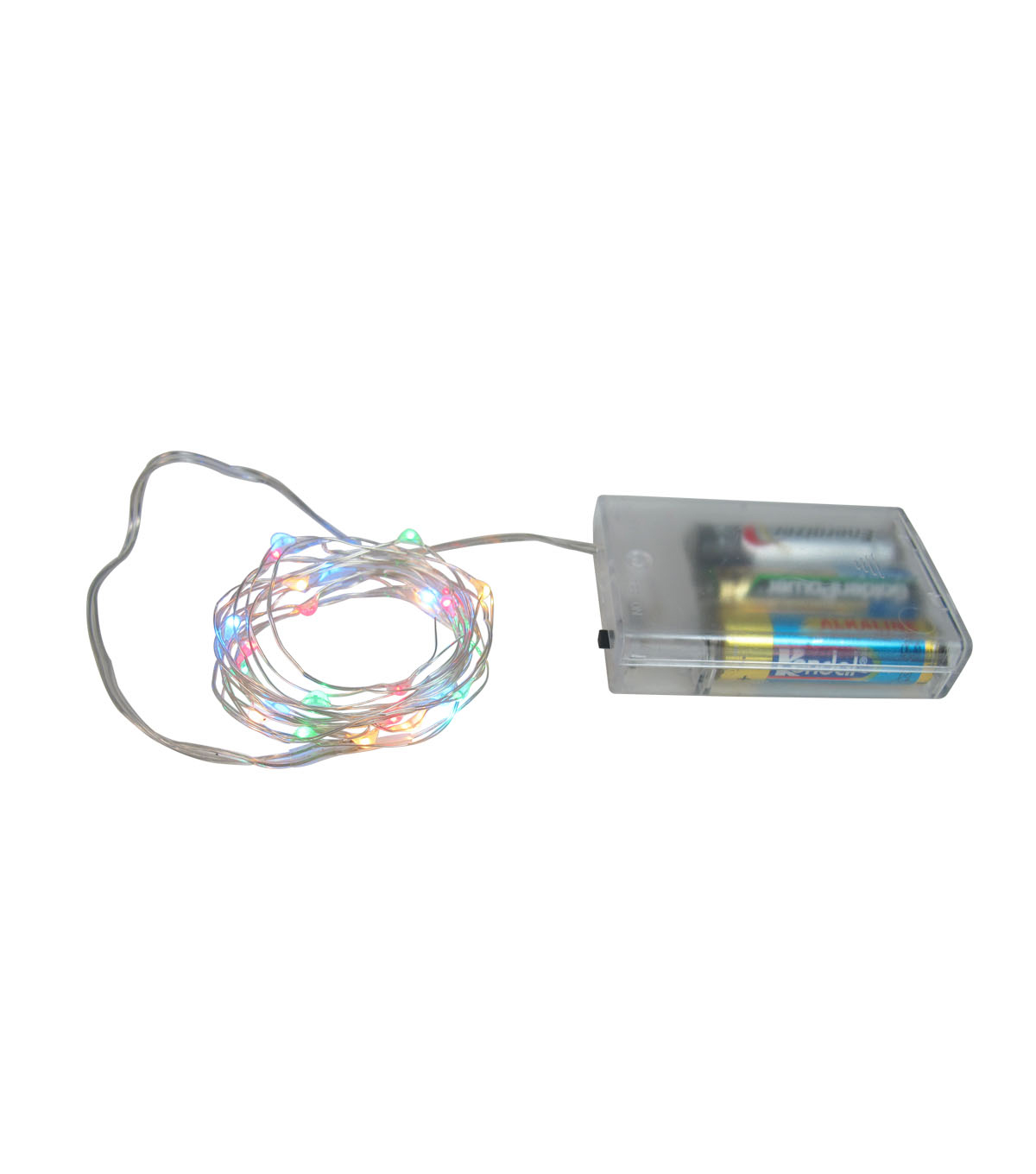 Maker\u0027s Holiday 25 ct Battery Operated LED Multicolor Rice Lights