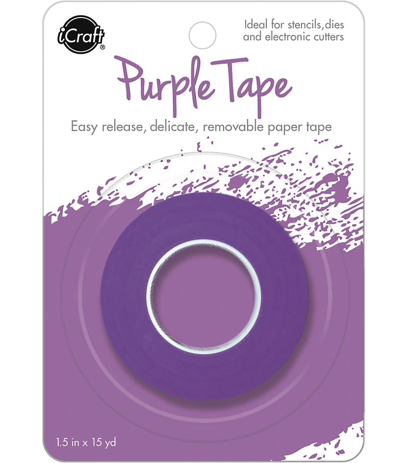 iCraft Removable Tape Roll 1.5\u0027\u0027x15 yds-Purple