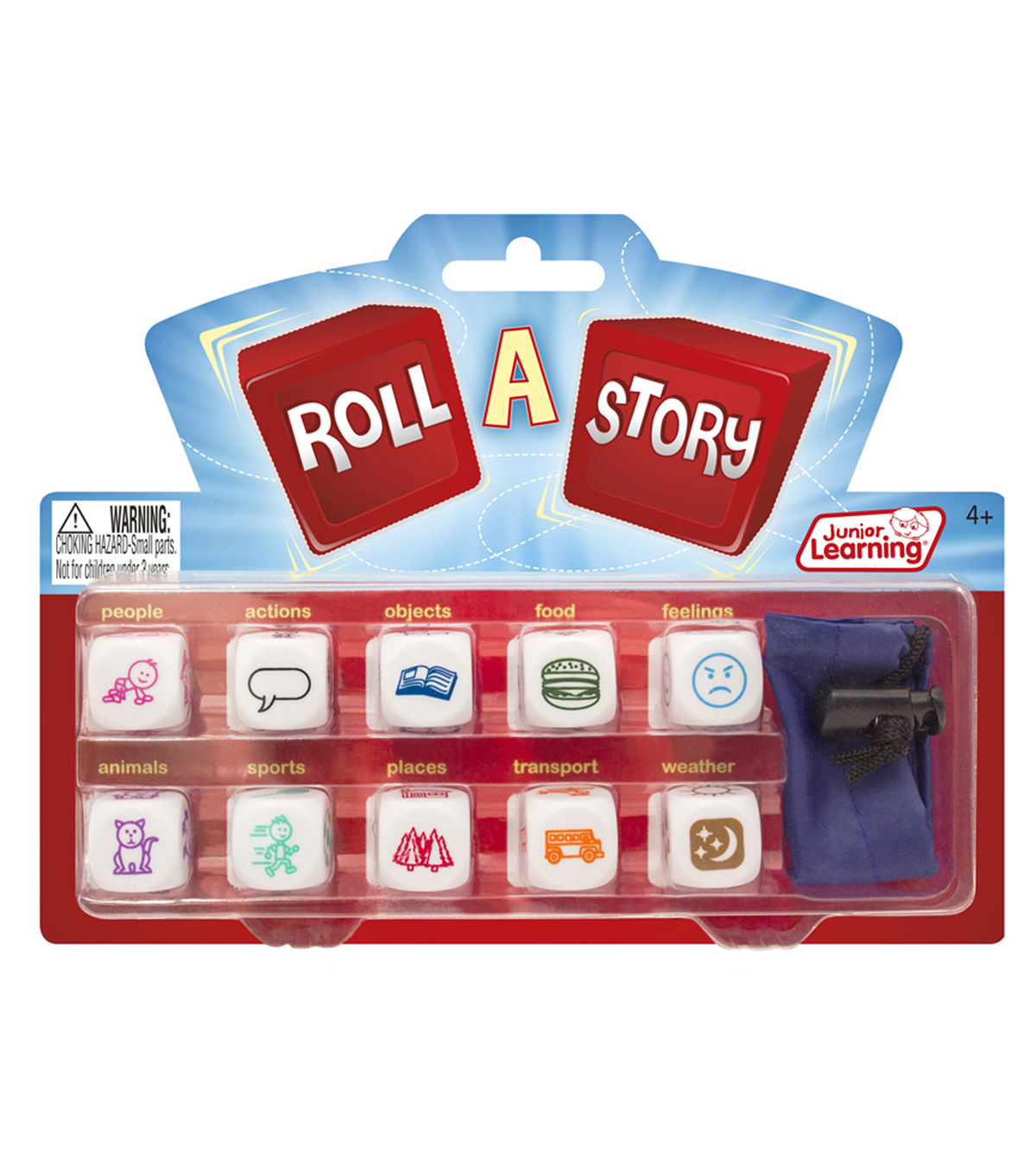 Junior Learning Roll-A-Story, Pack of 3