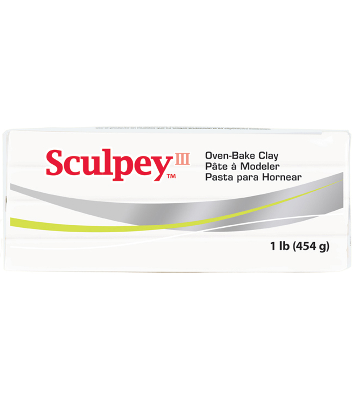 Sculpey III One Pound Packages, White