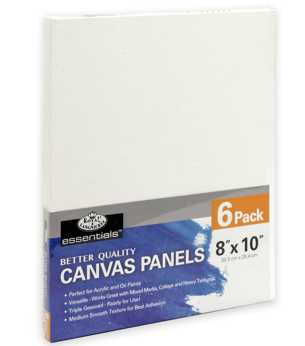 Royal & Langnickel 8\u0022x10\u0022 Canvas Panels 6pk