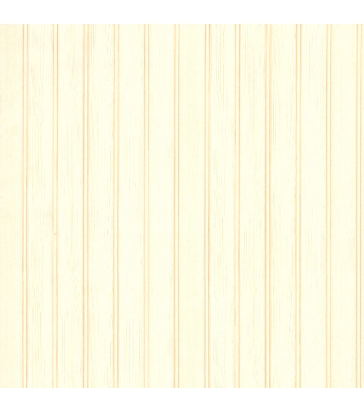 Silva Cream Wood Panelling Wallpaper Sample
