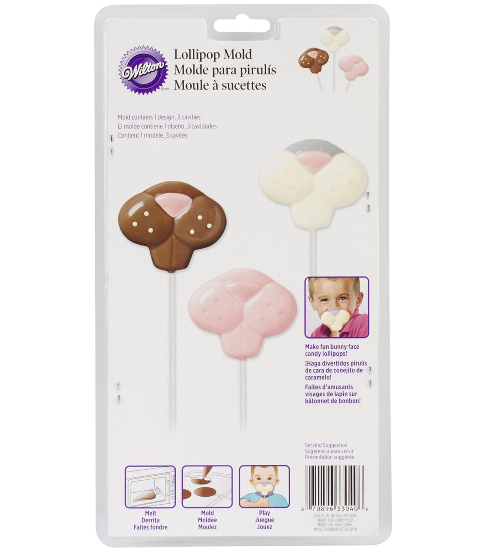 Wilton 11''x6'' Lollipop Mold-Bunny Nose