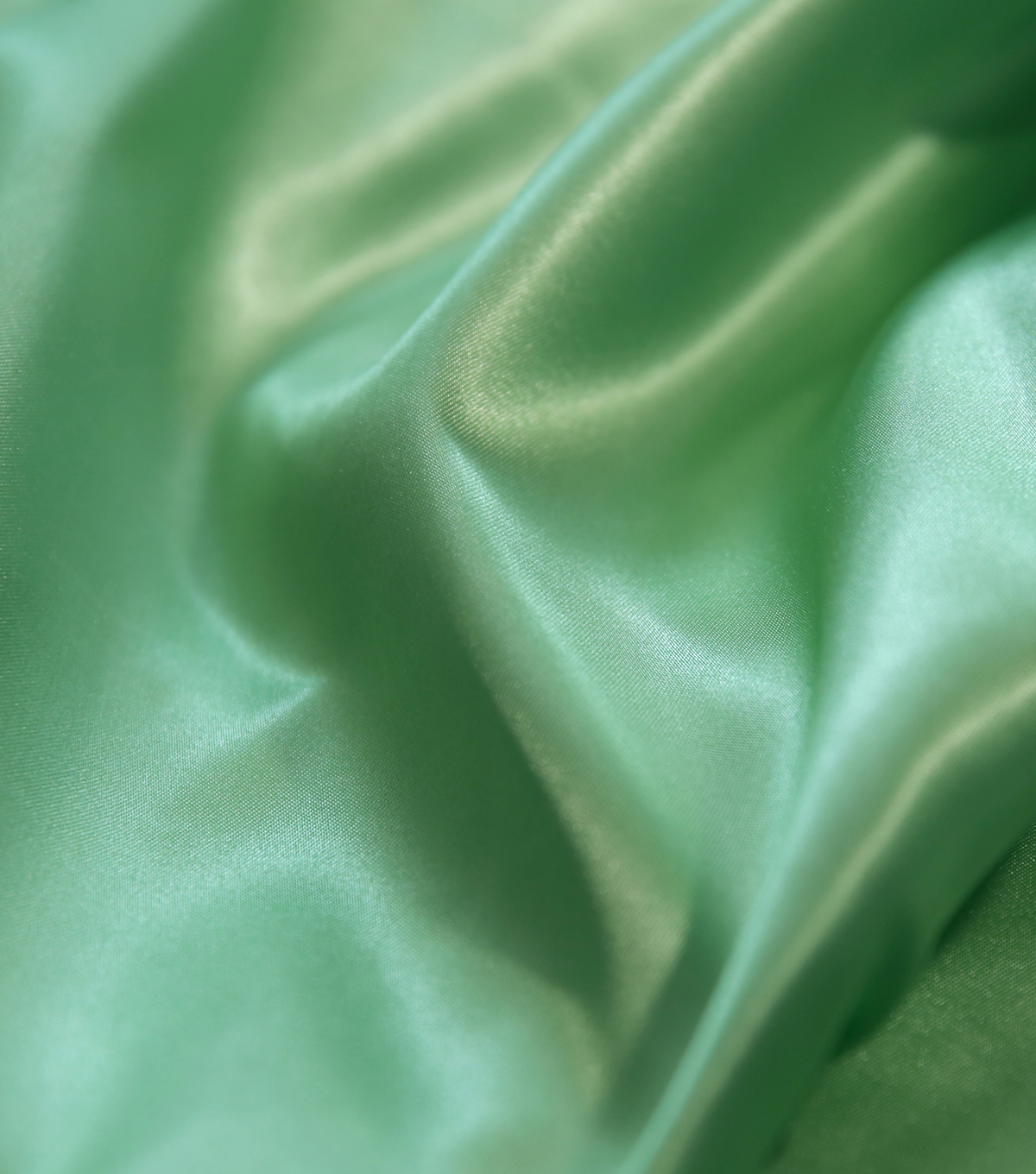 Glitterbug Solid Satin Fabric 45\u0022-Spring Green