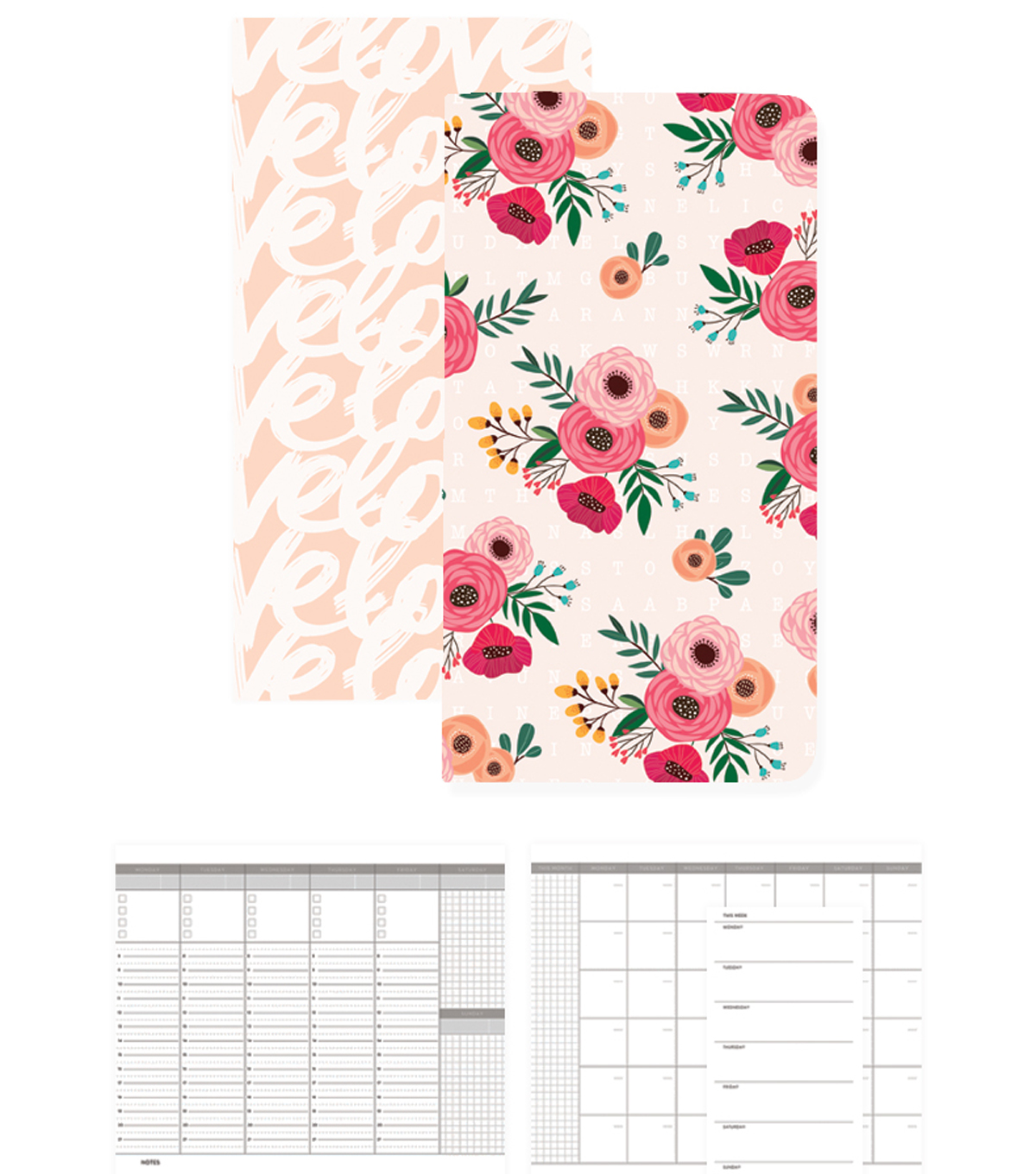 Webster\u0027s Pages Color Crush Traveler Notepad Set VI