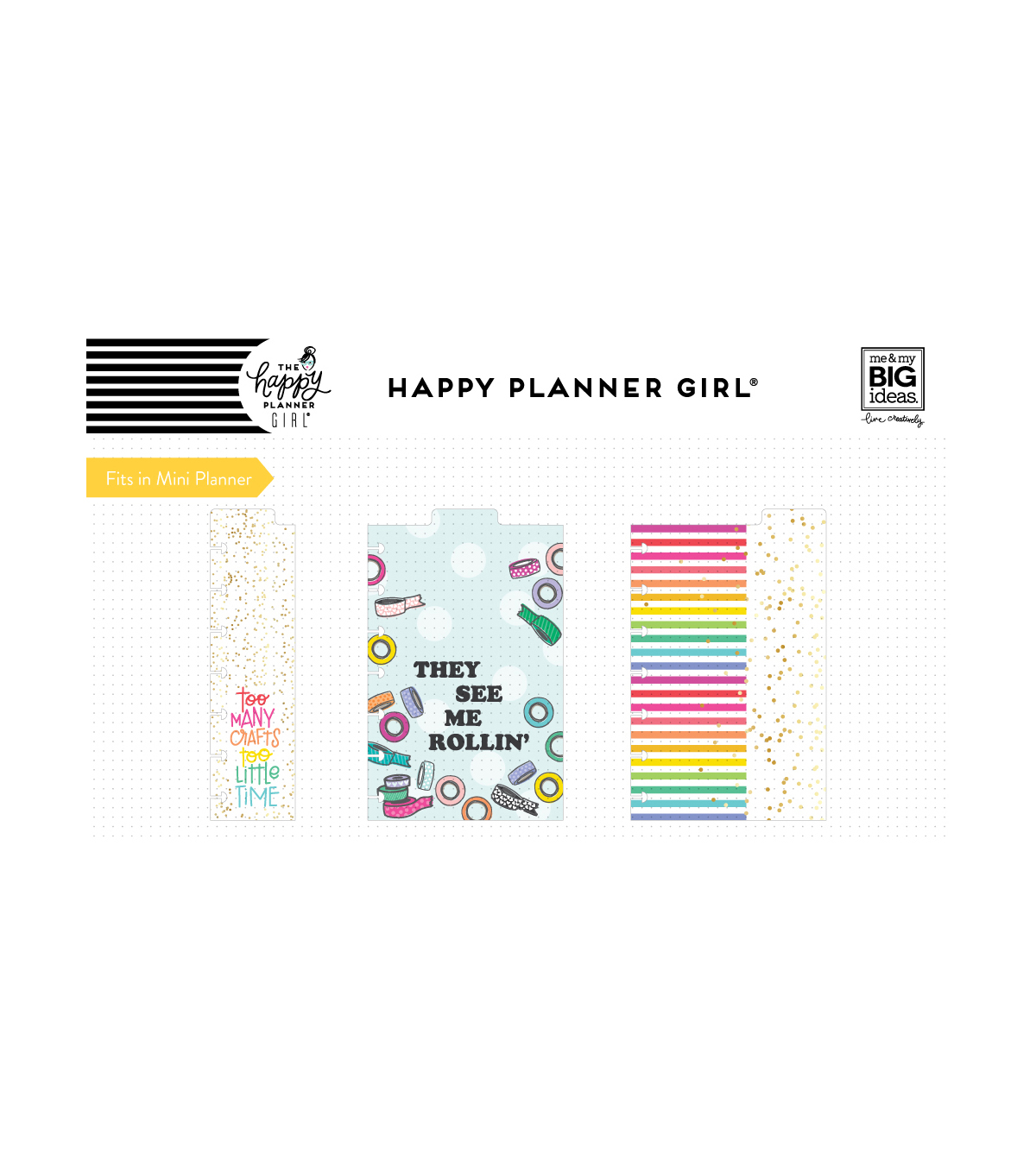 The Happy Planner Girl Mini Dashboards-Miss Maker