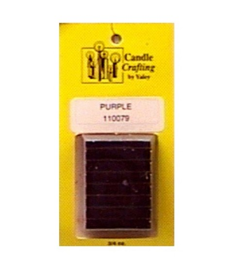 Yaley Candle Dye Blocks-.75 oz., Purple