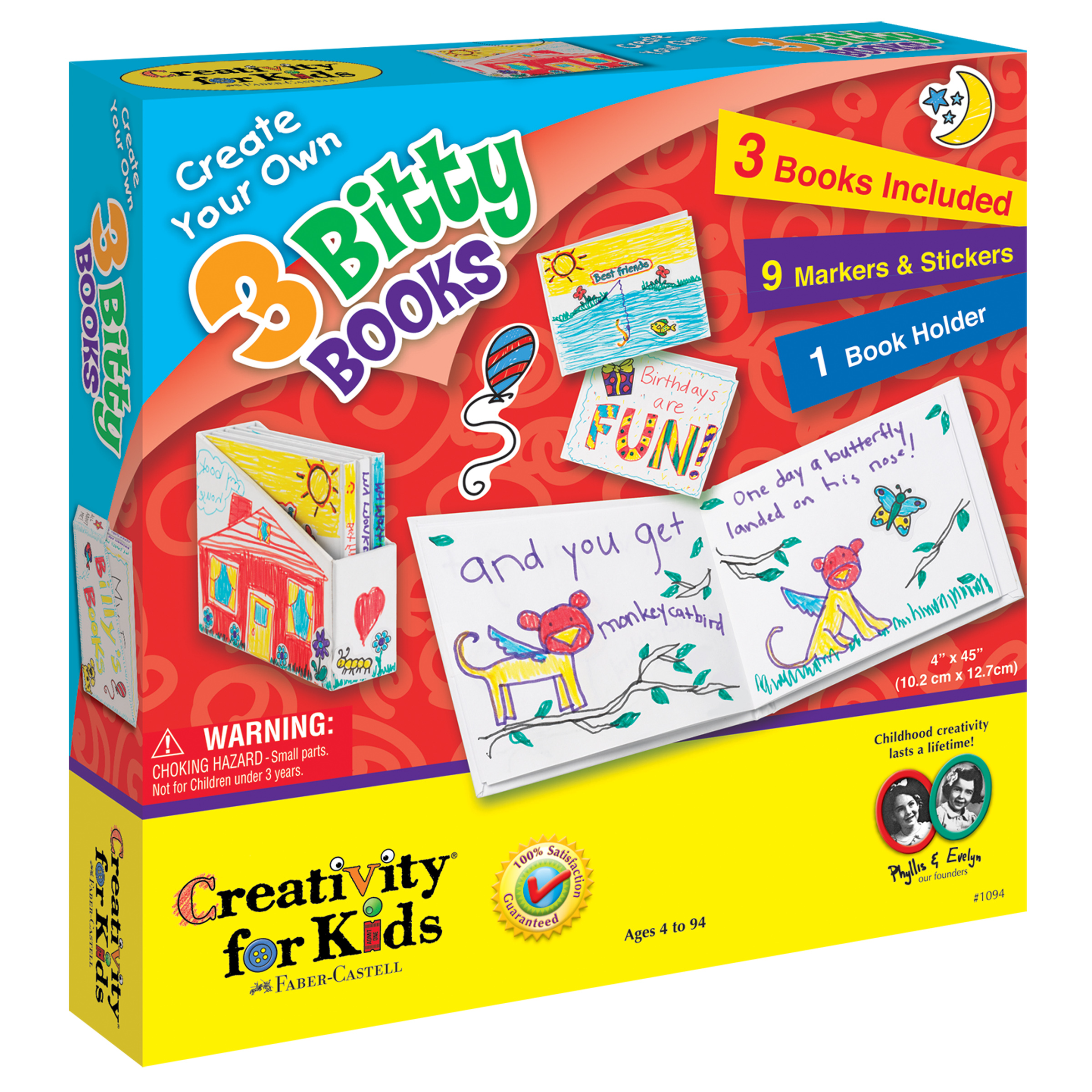 Creativity For Kids Create Your Own 3 Bitty Books Kit