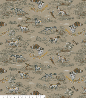 Snuggle Flannel Fabric -Woodland Springer