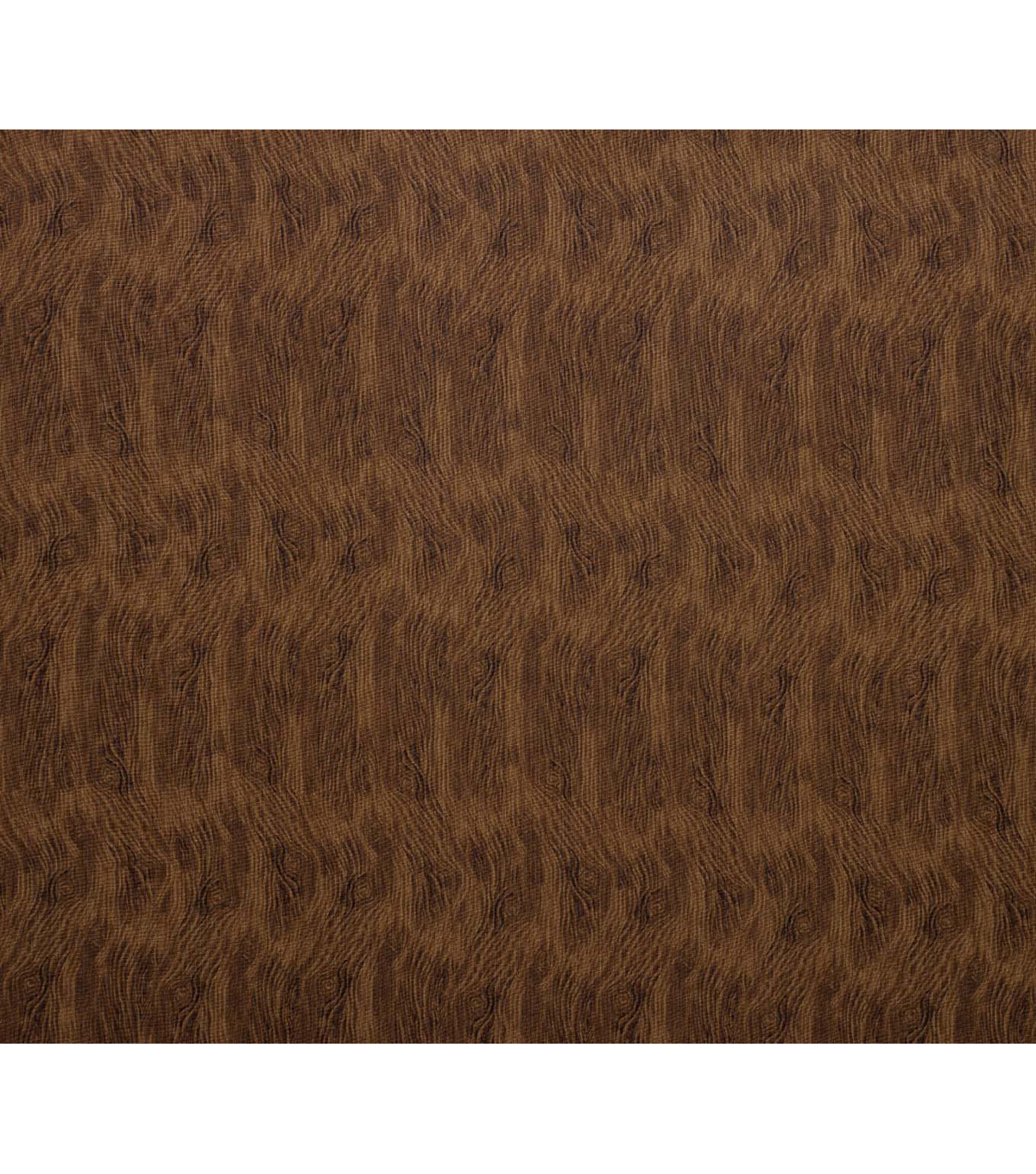 Novelty Cotton Fabric-Brown Woodgrain