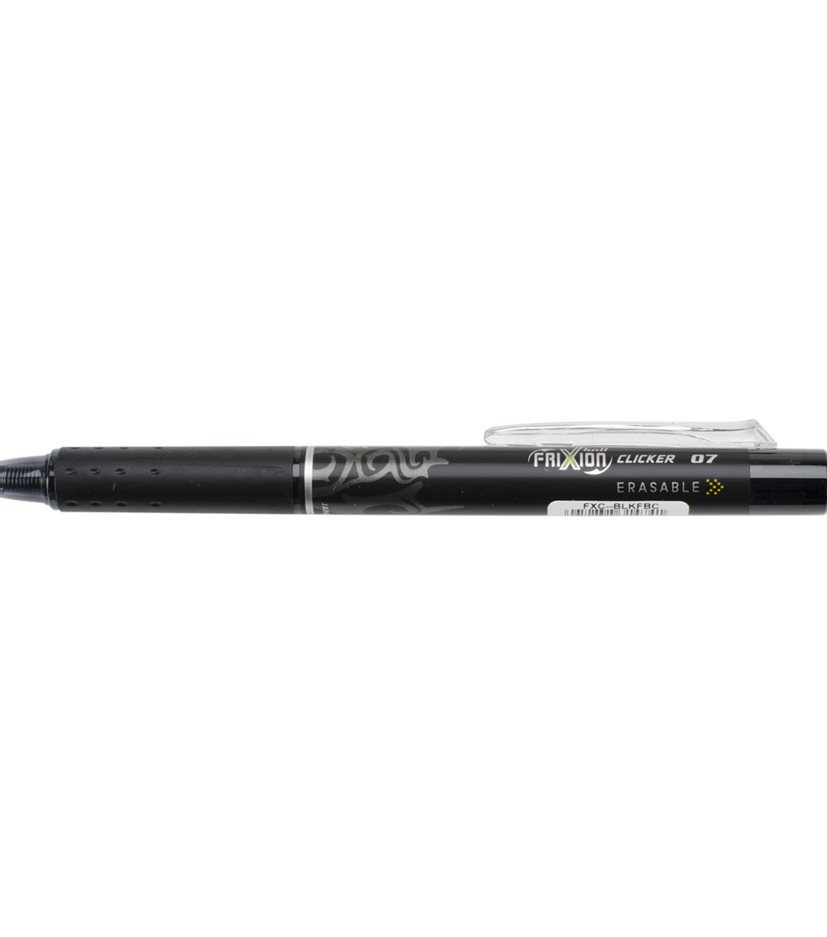 Pilot FriXion Fine Point Clicker Erasable Pen Open Stock-Black