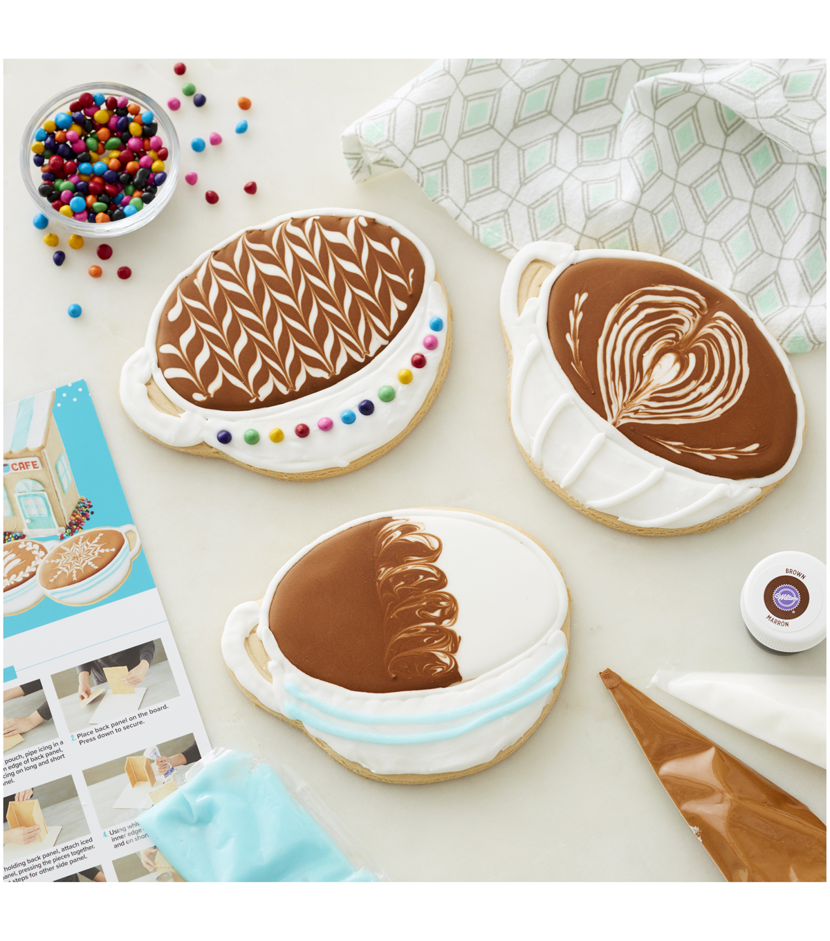 frosting glass windows reviews online shopping frosting.htm tasty by wilton coffee shop cookie kit joann  tasty by wilton coffee shop cookie kit