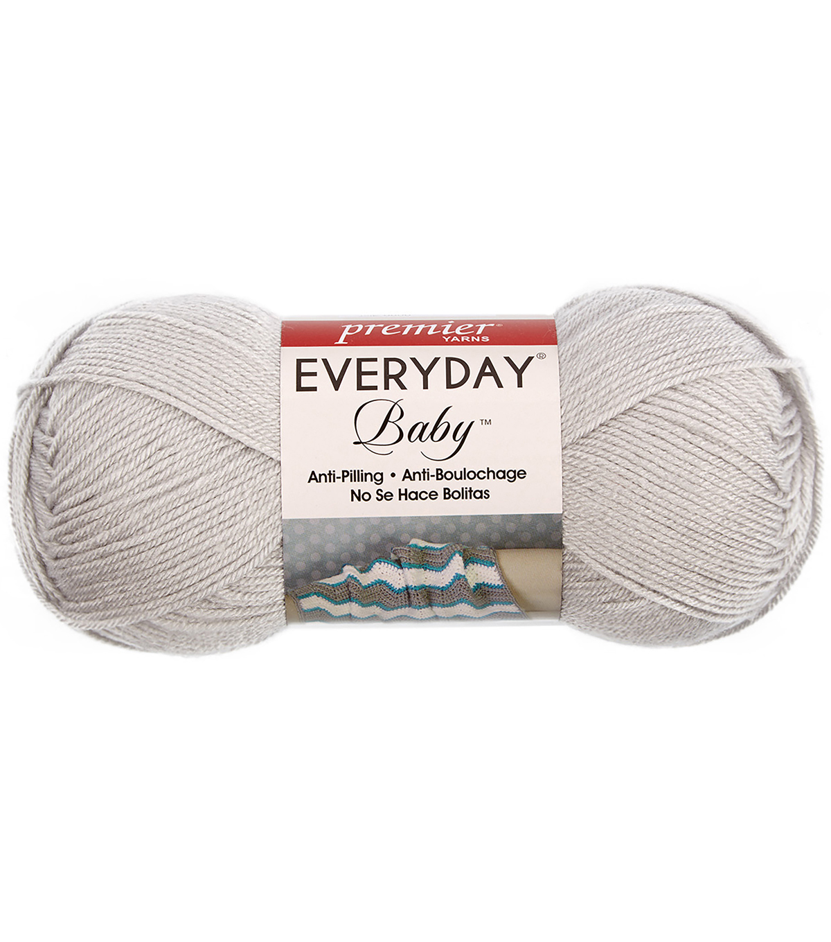 Premier Yarns Everyday Baby Yarn, Fog Gray