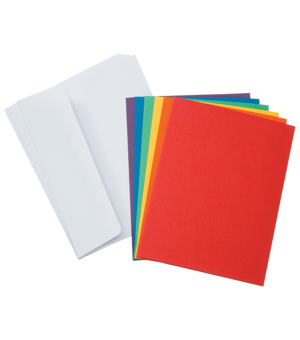 Core\u0027dinations Card/Envelopes:  A2  Primary Assortment; 50 pack