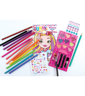 Make It Real Nickelodeon Sunny Days Glitz N Glam Cosmetic Star