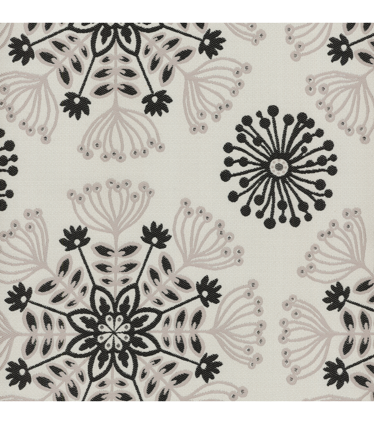 Waverly Multi-Purpose Decor Fabric 56\u0022-Kaleidoscope Tuxedo