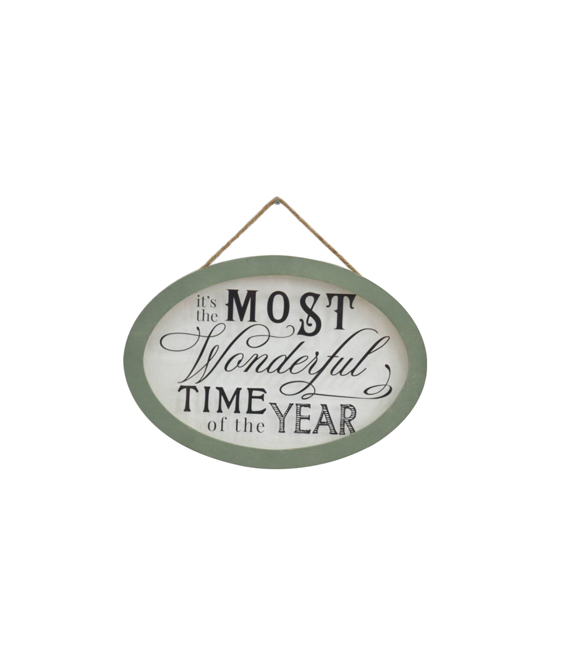 Maker\u0027s Holiday Christmas Wall Decor-It\u0027s the Most Wonderful Time
