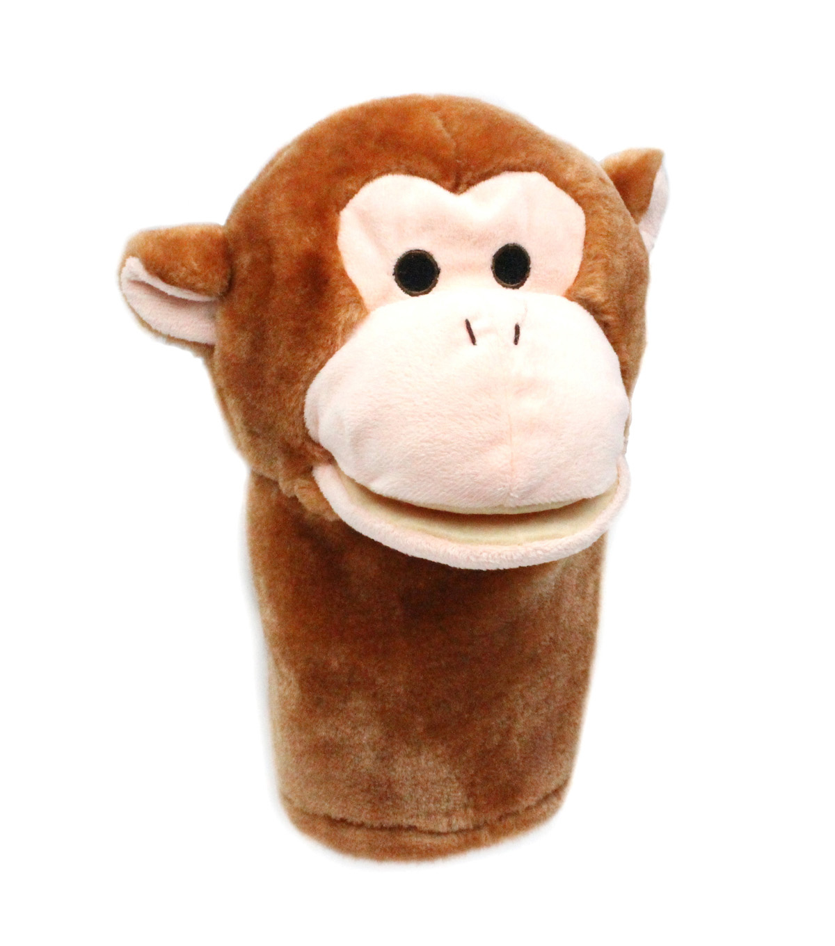 Monkey Bigmouth Puppet, Pack of 2