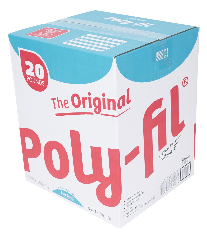 Poly Fil Premium Polyester Fiber Fill Box 20lb Joann