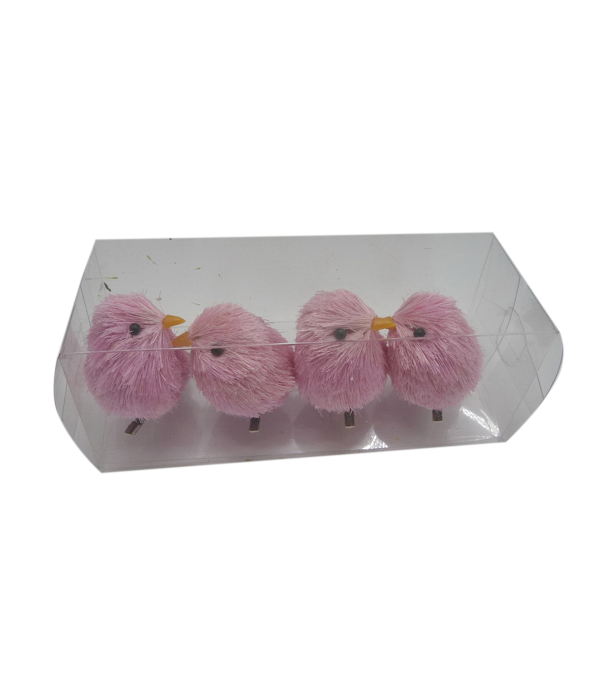 Fresh Picked Spring Bird Critter Clips-Pink