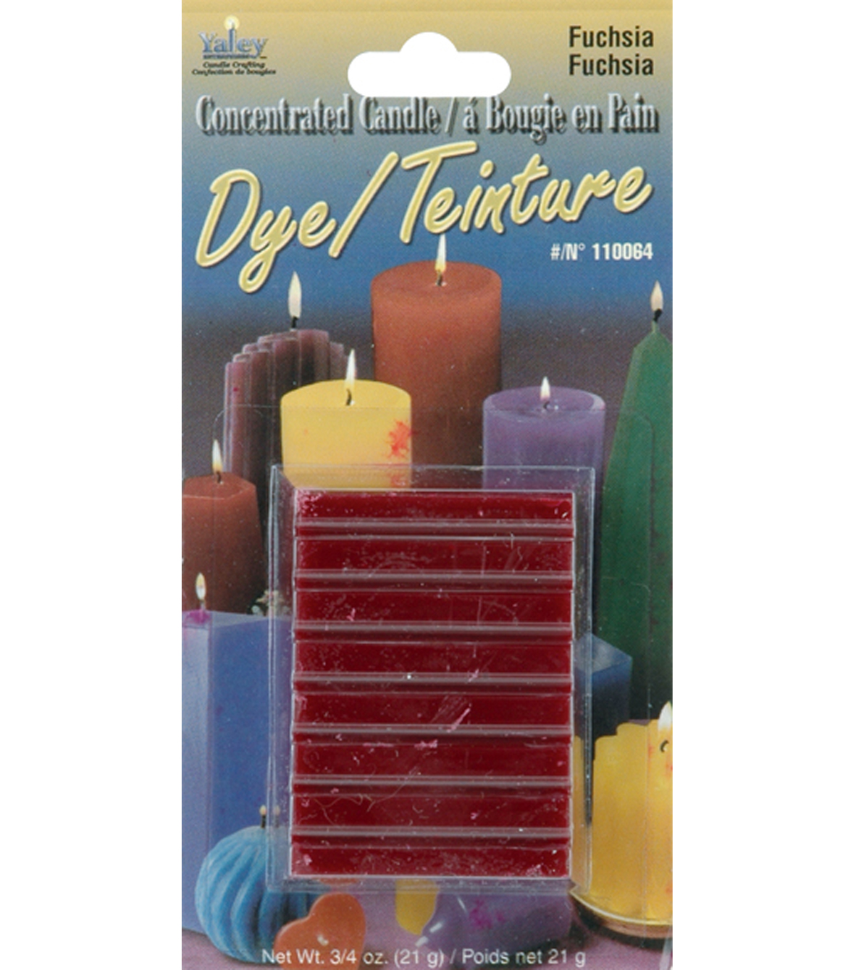 Yaley Candle Dye Blocks-.75 oz.