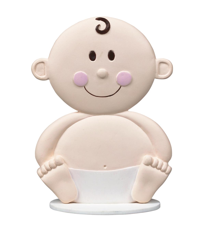 Cake Topper 4u0022 Baby Face
