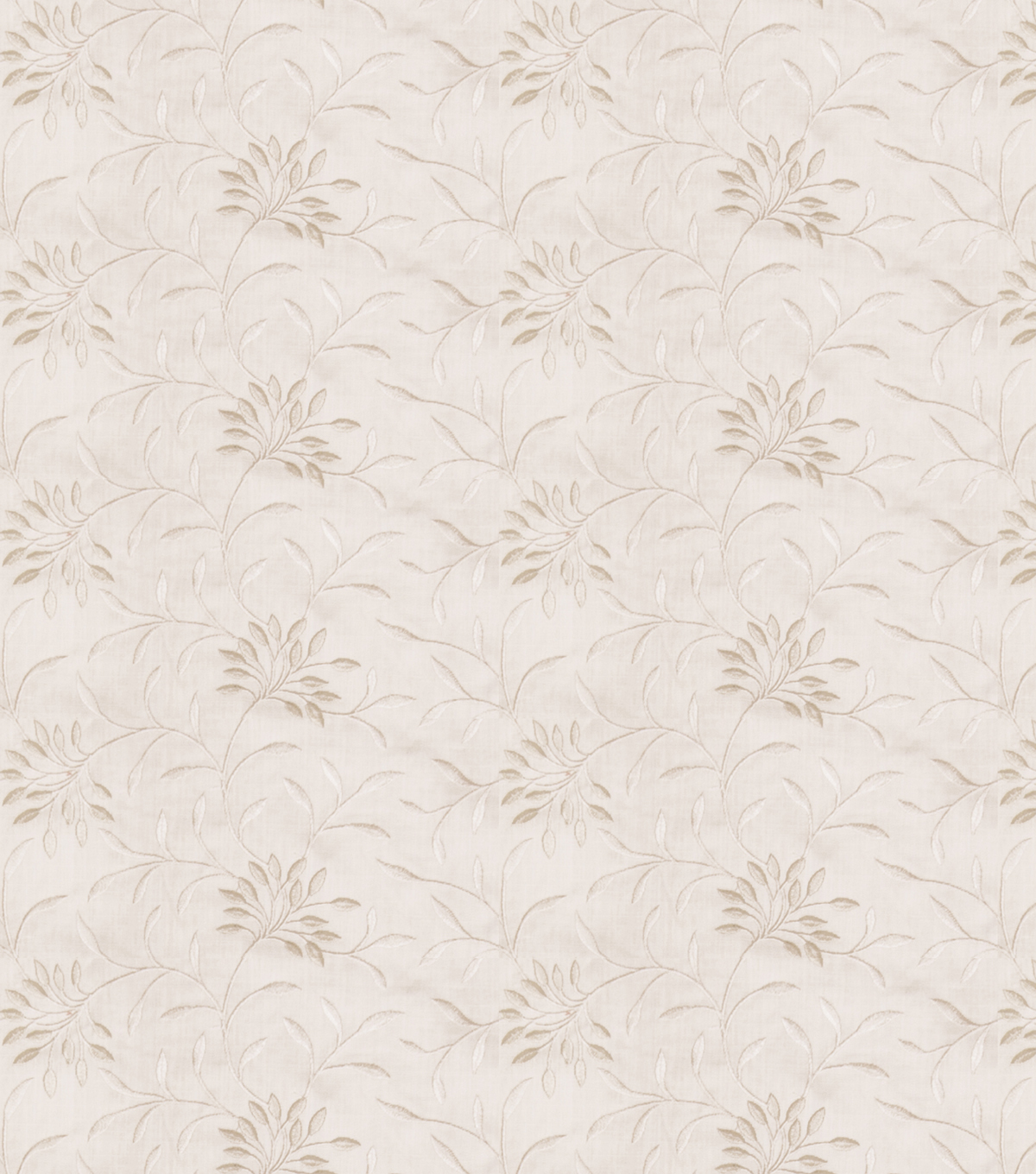 Eaton Square Lightweight Decor Fabric 52\u0022-Greenville/White