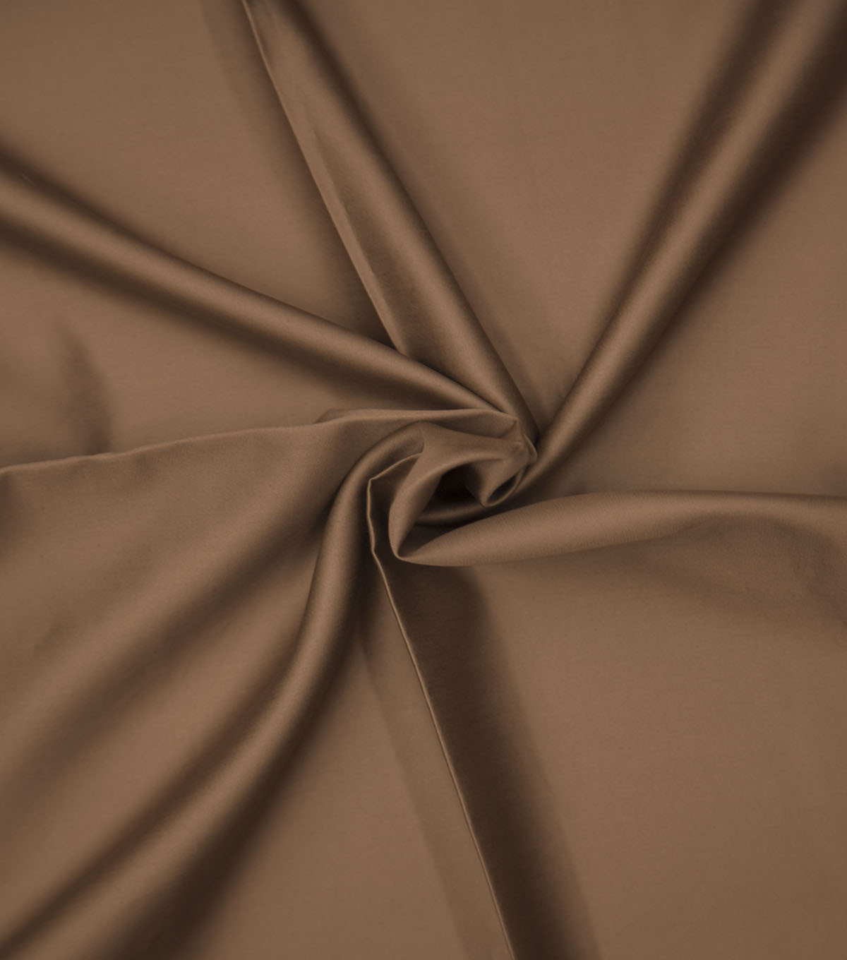 Supima Sateen Cotton Fabric-Solids, Brown