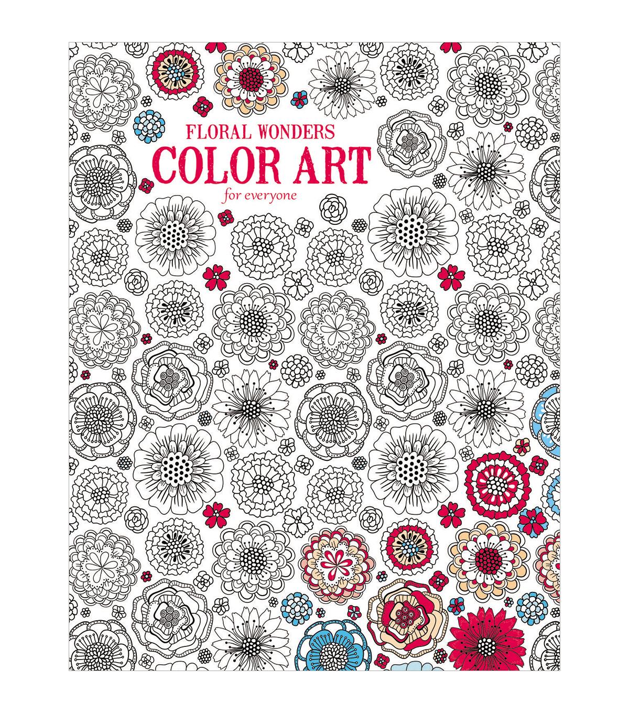 - Leisure Arts: Floral Wonders Coloring Book JOANN