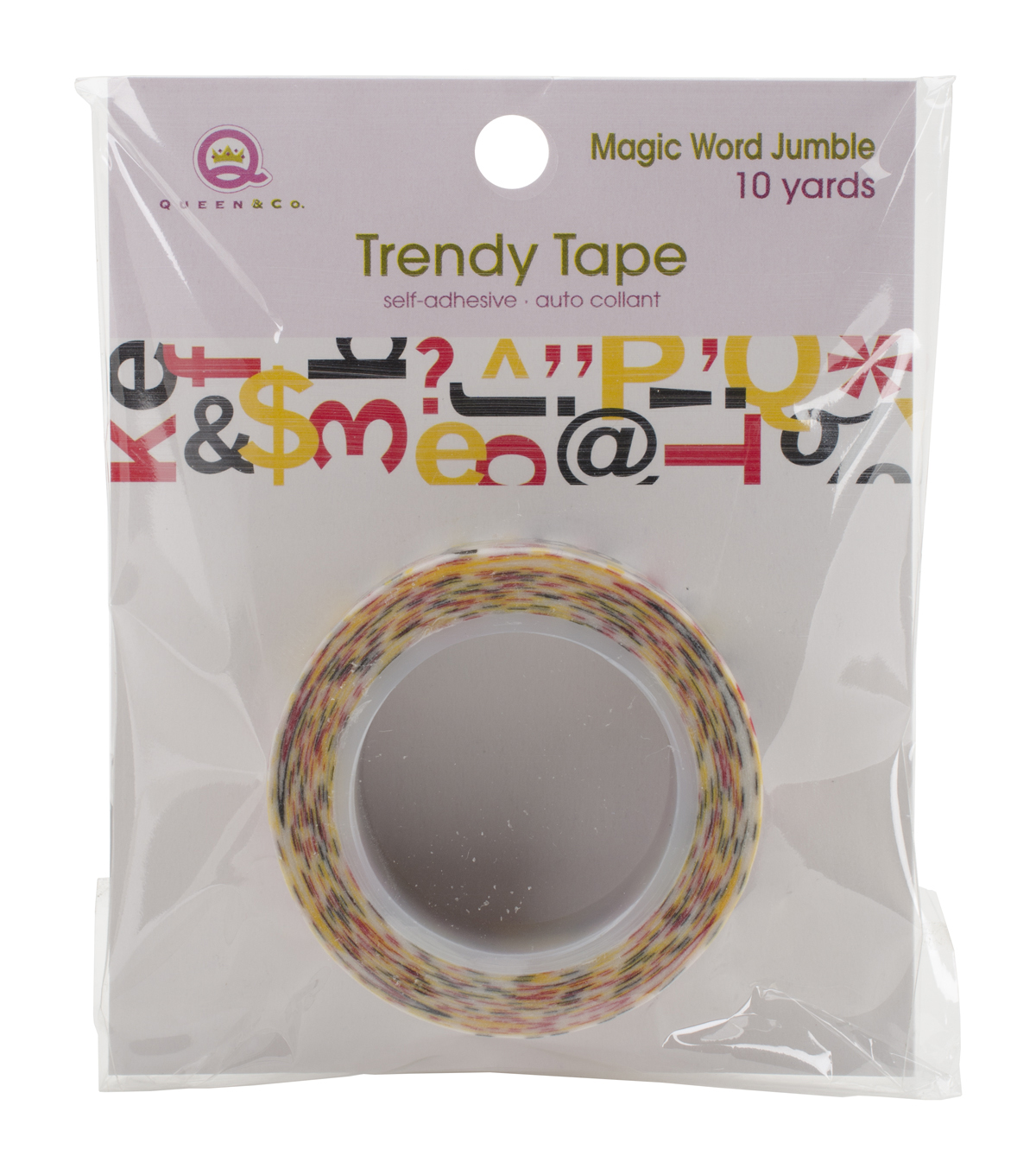 Queen & Co Letter Jumble Trendy Tape