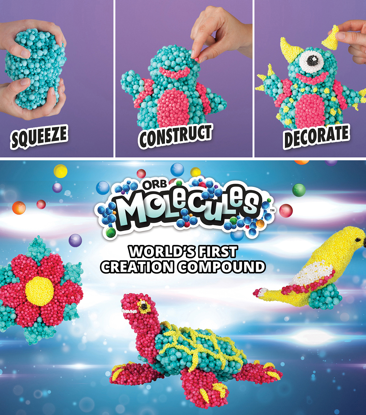 Orbmolecules Merkitty Activity Kit