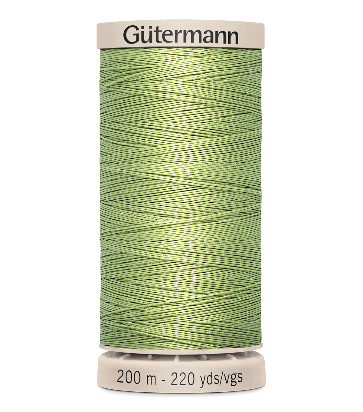Gutermann Hand Quilting Thread 200 Meters (220 Yrds)-Primary, Light Fern #9837