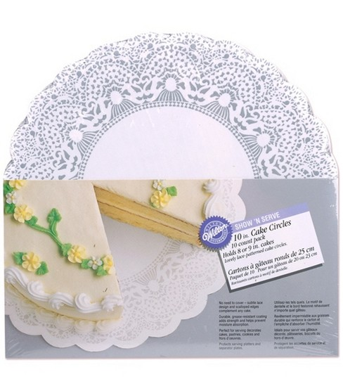 Wilton 10\u0027\u0027 Show N\u0027 Serve Cake Circles
