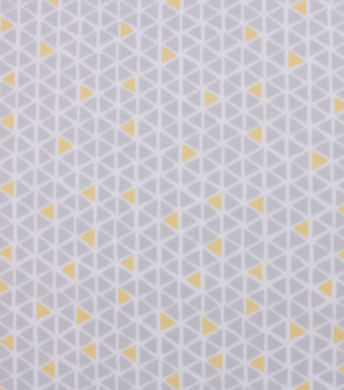 Blizzard Fleece Fabric-Yellow and Gray Geo