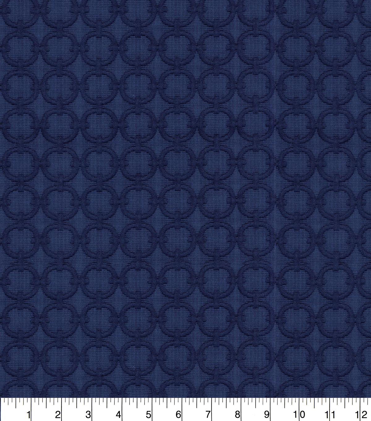 Home Decor 8\u0022x8\u0022 Fabric Swatch-Waverly Full Circle Navy