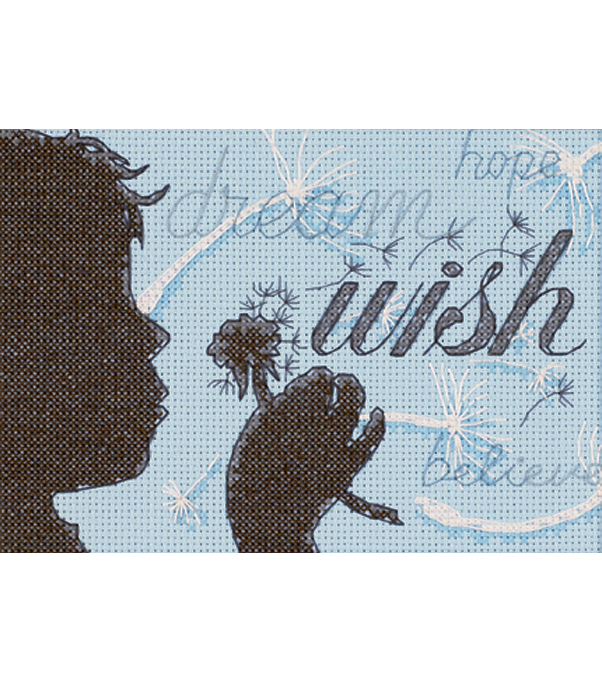 Dimensions Wish Mini Counted Cross Stitch Kit