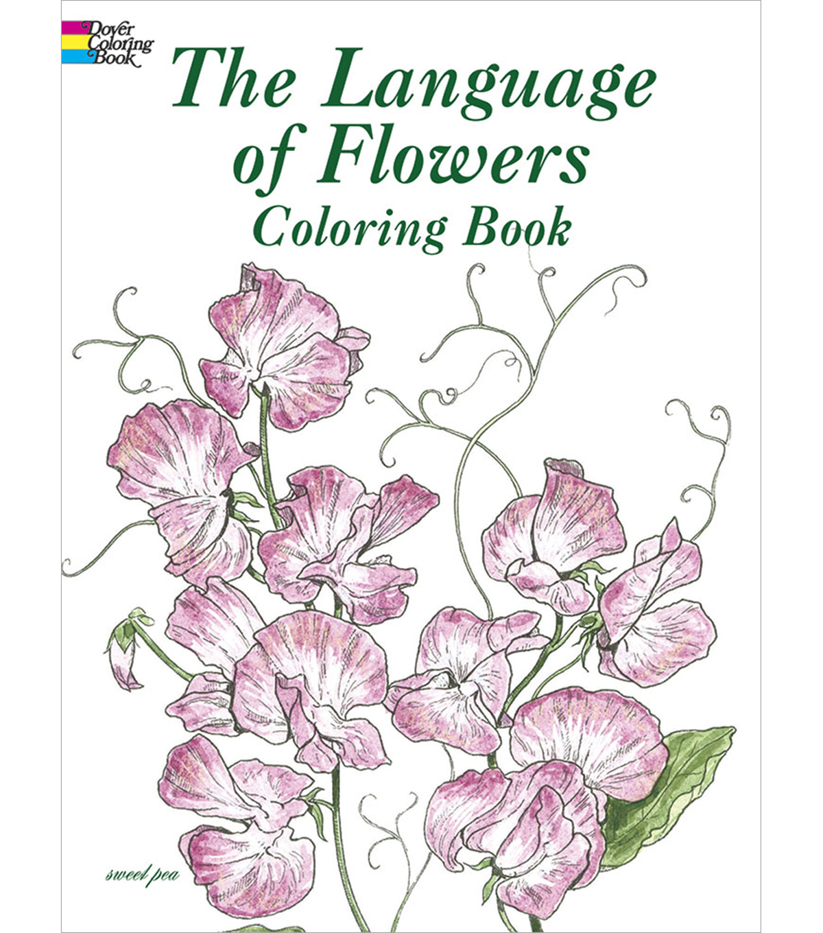 The Language Of Flowers Coloring Book | JOANN