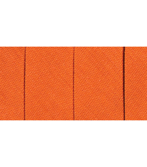 Wrights Extra Wide Double Fold Bias Tape, Carrot