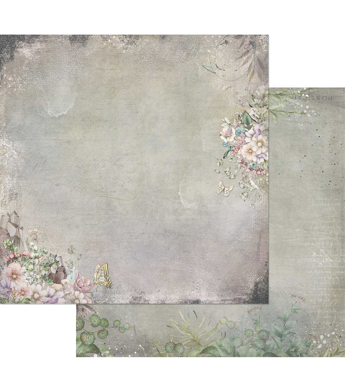 49 & Market Tattered Garden Double-Sided Cardstock-Tattered Flourish