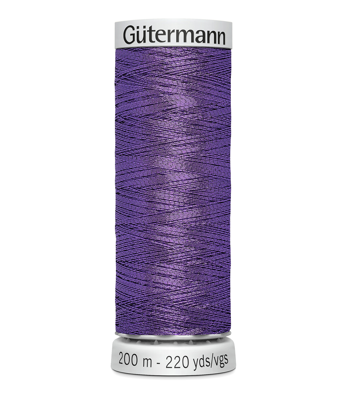 Gutermann 200M Dekor Thread, 200m Dekor Metallic-purple