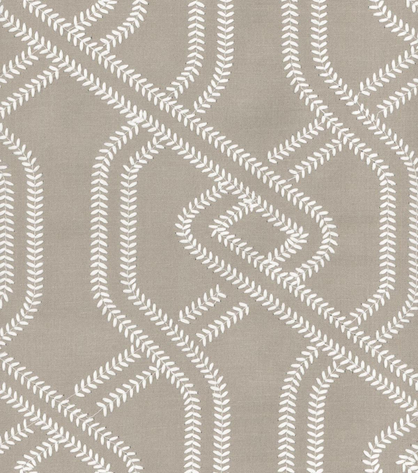 Waverly Lightweight Decor Fabric 54\u0022-Stitchery Emb/Stone