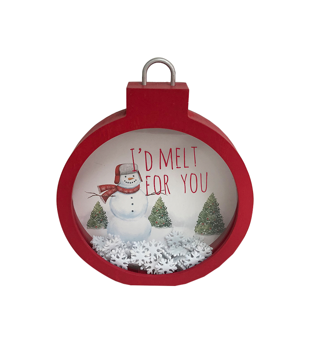Maker\u0027s Holiday Christmas Shaker Ornament-I\u0027d Melt for You
