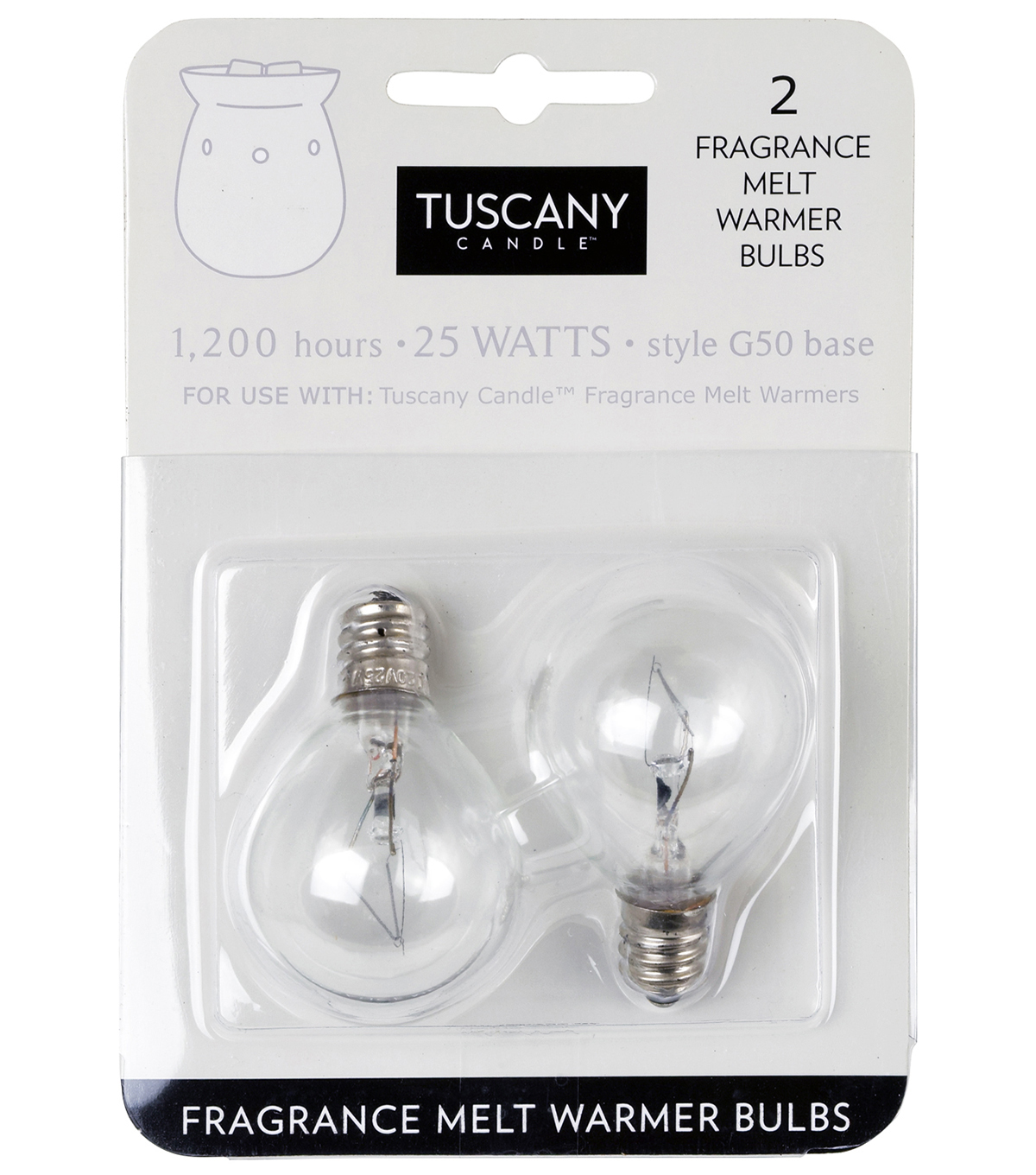 Hudson 43 Candle & Light Collection Warmer Bulbs