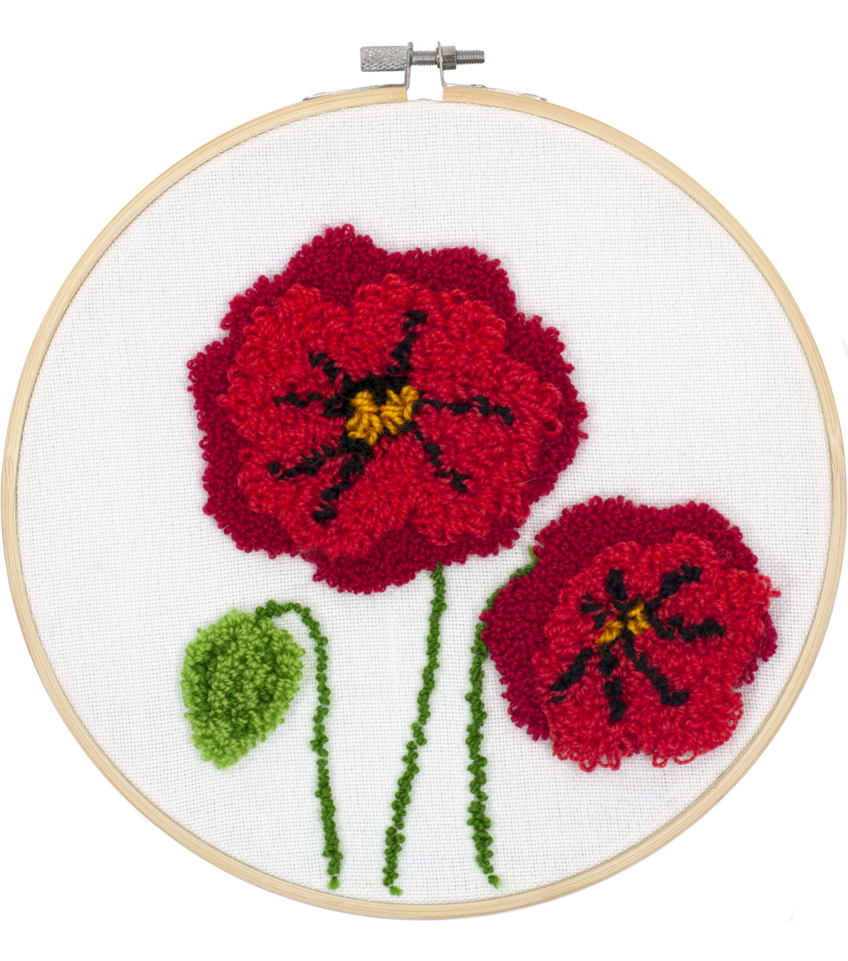 Poppies Punch Needle Kit