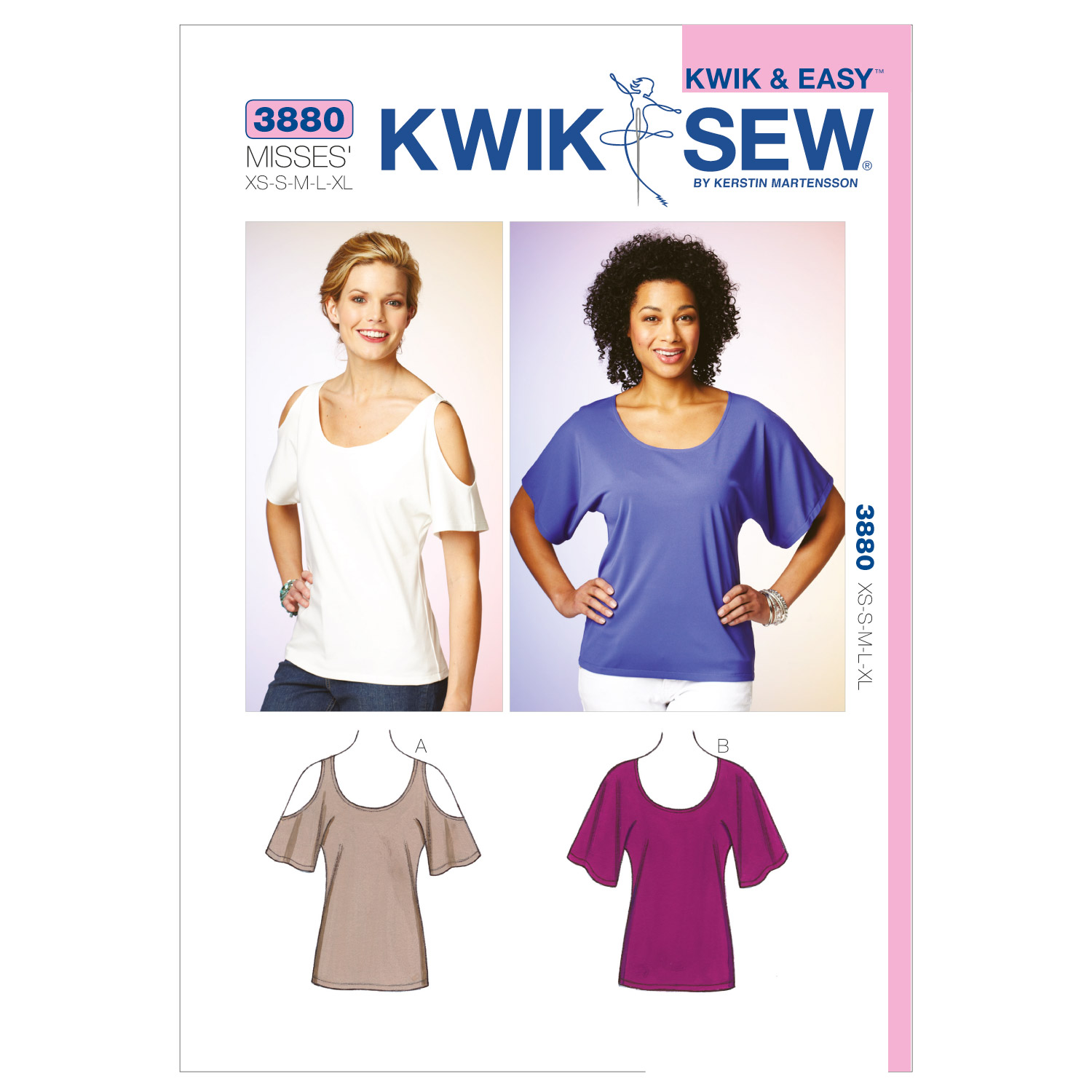 Kwik Sew Misses Top-K3880