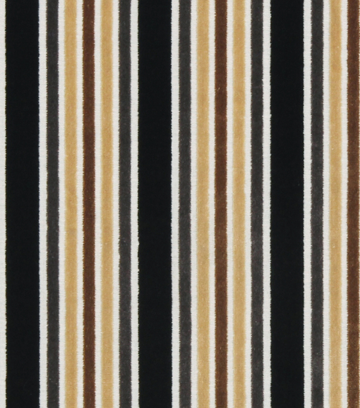 Robert Allen @ Home Upholstery Fabric 54\u0022-Multi Stripe Greystone