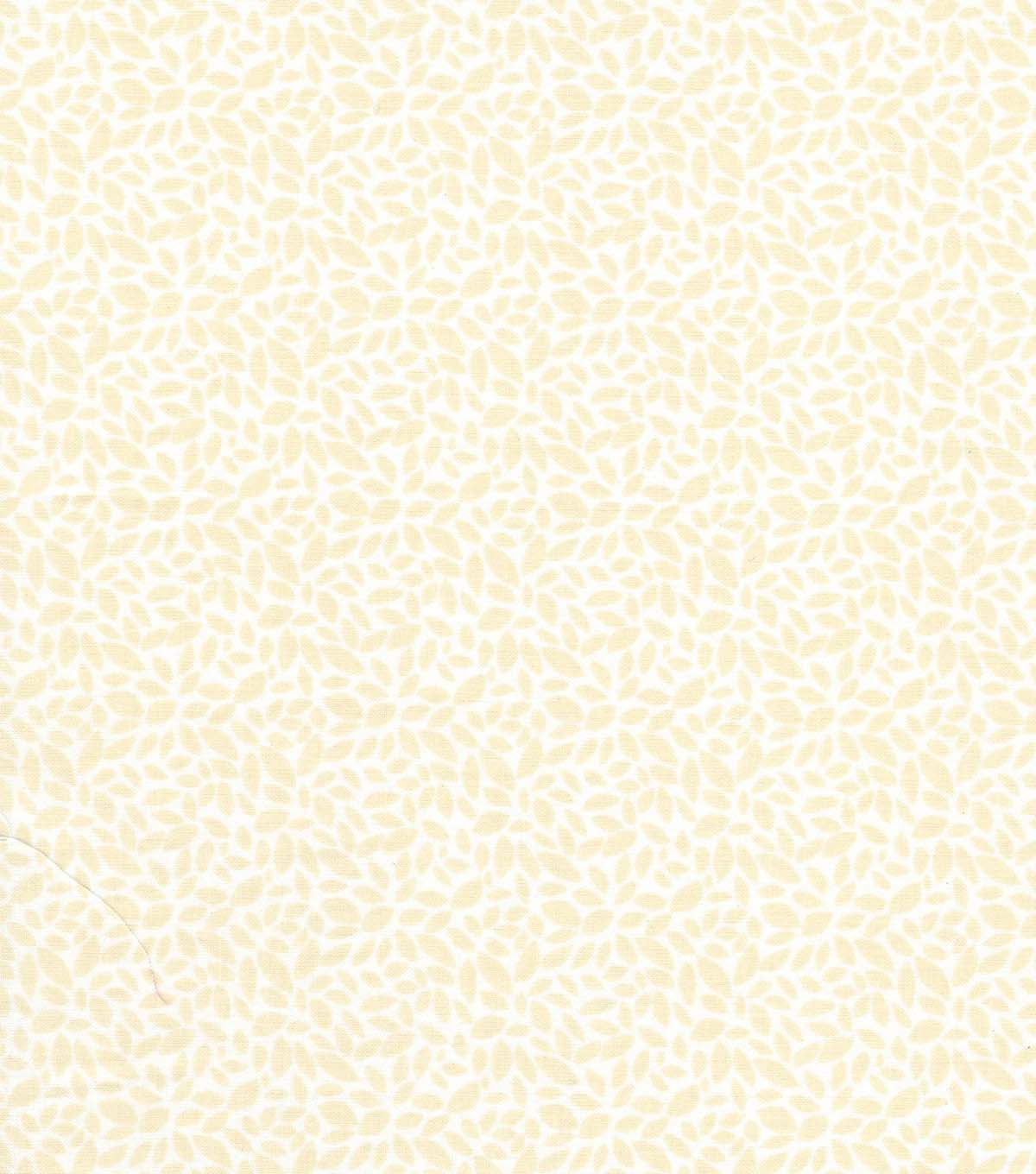 Quilter\u0027s Showcase Cotton Fabric -Cream Burst on White