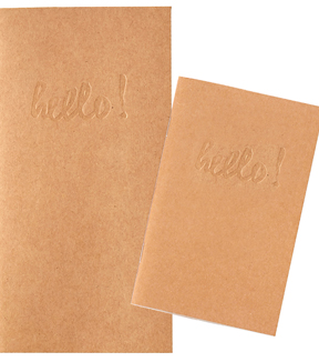 Webster\u0027s Pages Color Crush 2 pk 4.25\u0027\u0027x8.25\u0027\u0027 Traveler Notebooks-Kraft